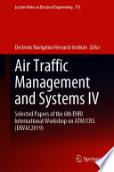 Air Traffic Management and Systems IV Book