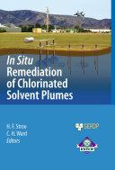 In Situ Remediation of Chlorinated Solvent Plumes [Pdf/ePub] eBook