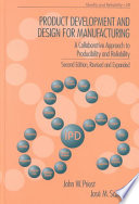 Product Development and Design for Manufacturing Book
