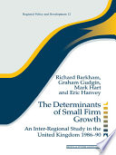 The Determinants of Small Firm Growth