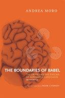 The Boundaries of Babel