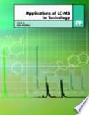 Applications Of Lc Ms In Toxicology Book PDF