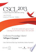 The Computer Supported Collaborative Learning Cscl Conference 2013 Volume 1 Book