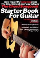 Guitar Chord Songbook Starter Book