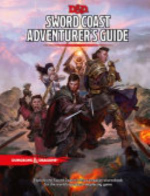 Book cover of 'Sword Coast Adventurer's Guide' by Wizards RPG Team