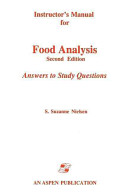 Instructor   s Manual for Food Analysis  Second Edition