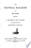 The Nautical Magazine and Naval Chronicle