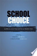School Choice Policies and Outcomes Pdf/ePub eBook