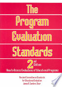 The Program Evaluation Standards