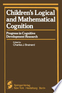 Children   s Logical and Mathematical Cognition Book
