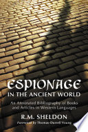 Espionage in the Ancient World