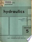 SCS National Engineering Handbook, Section 5: Hydraulics