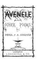 Avenele And Other Poems