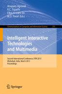 Intelligent Interactive Technologies and Multimedia Pdf/ePub eBook