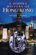 A Modern History of Hong Kong