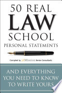 50 Real Law School Personal Statements