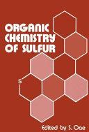 Organic Chemistry of Sulfur