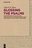 Glossing the Psalms Pdf/ePub eBook