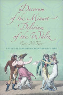 Pdf Decorum of the Minuet, Delirium of the Waltz