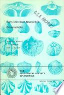 Early Devonian Brachiopod Zoogeography
