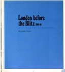 Pdf London Before the Blitz, 1906-40