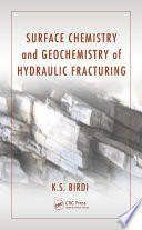Surface Chemistry and Geochemistry of Hydraulic Fracturing Book