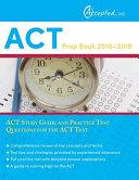 ACT Prep Book 2018 2019