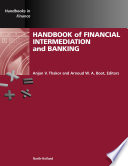 Handbook of Financial Intermediation and Banking