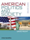 American Politics and Society Pdf/ePub eBook