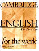 Cambridge English for the World 1 Workbook