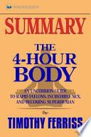 The 4-hour Body, Summary
