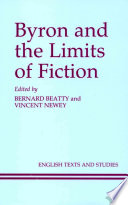 Byron and the Limits of Fiction Book