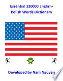 Essential 120000 English Polish Words Dictionary