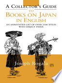 A Collector S Guide To Books On Japan In English