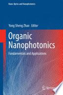 Organic Nanophotonics Book PDF
