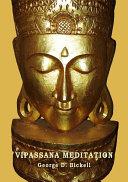 Vipassana Meditation   Insight Meditation