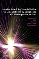 Invariant Imbedding T matrix Method for Light Scattering by Nonspherical and Inhomogeneous Particles