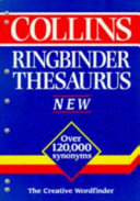 Cover of Collins Ringbinder Thesaurus