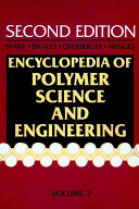 Encyclopedia Of Polymer Science And Engineering Fibers Optical To Hydrogenation Book PDF