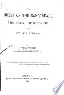 The Quest Of The Sancgreall