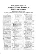 The Paper Industry