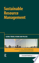 Sustainable Resource Management Book