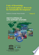 Unity of Knowledge  in Transdisciplinary Research for Sustainability    Volume II