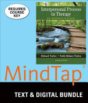 Interpersonal Process in Therapy   Mindtap Counseling  1 term Access