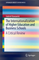 Pdf The Internationalization of Higher Education and Business Schools Telecharger