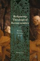 Refiguring Theological Hermeneutics Pdf/ePub eBook