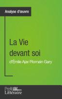 La Vie devant soi de Romain Gary (Analyse approfondie) Book
