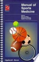 Manual of Sports Medicine