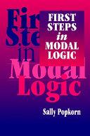 First Steps in Modal Logic