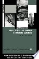 Fundamentals of Durable Reinforced Concrete